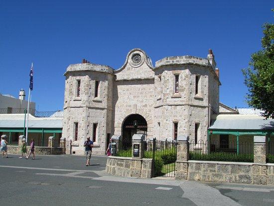 Fremantle, Australie : Front entarnce to the prison