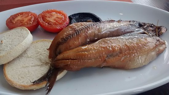 Aultbea, UK: Breakfast kipper from Loch Ewe