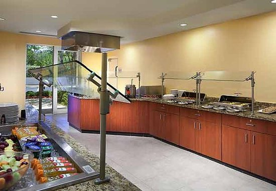 Dania Beach, FL: Group Buffet Area