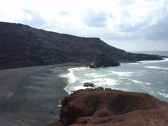 EL Golfo, España: il mare difronte al Lago verde