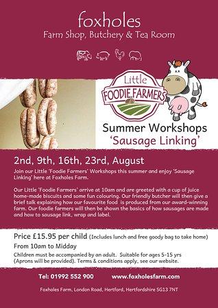 Hertford, UK: Book our Little Foodie Farmer summer workshops