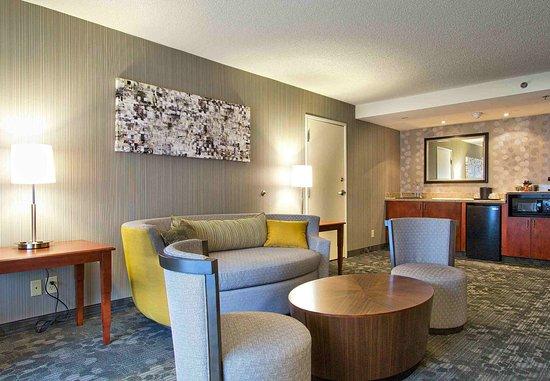 แบล็กส์เบิร์ก, เวอร์จิเนีย: King Suite Living Room