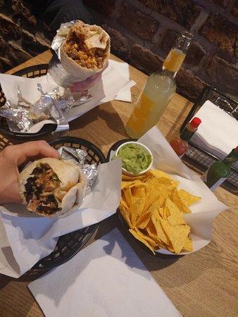 Bay Area Burrito Company: Burritos and nachos with guacamole