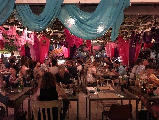 Sant Carles de Peralta, España: ristorante
