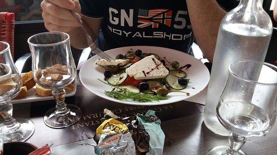Chauvigny, França: Salades