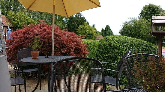 Star & Eagle Restaurant: Beautiful terrace