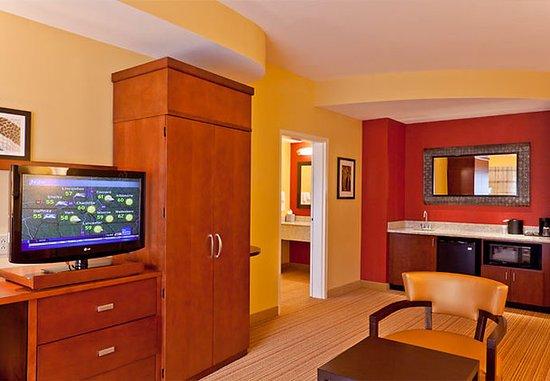 Huntersville, Carolina do Norte: King Suite Living Area