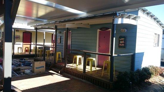Gerroa, Australia: New Al fresco roof