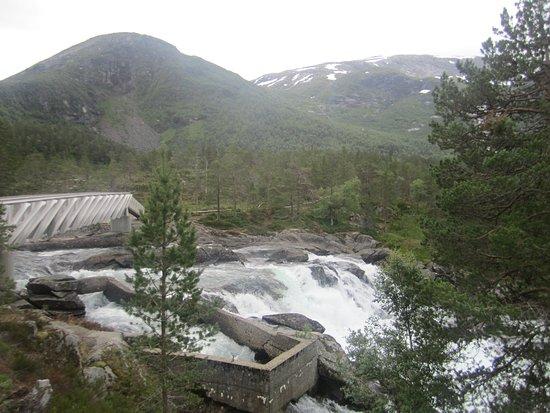 Forde, Norwegia: вид на мостик