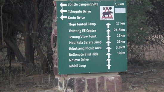 Thabazimbi, Sør-Afrika: Routes to drive