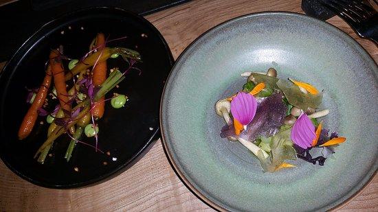 Barvaux, Bélgica: main dish 3, vegan