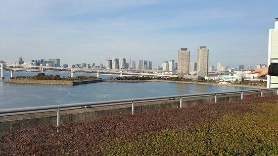 Minato, Japan: aquacity mall and vicinity view