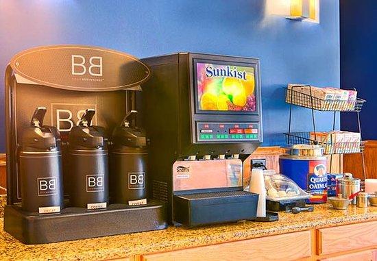 San Angelo, TX: Breakfast Beverage Station