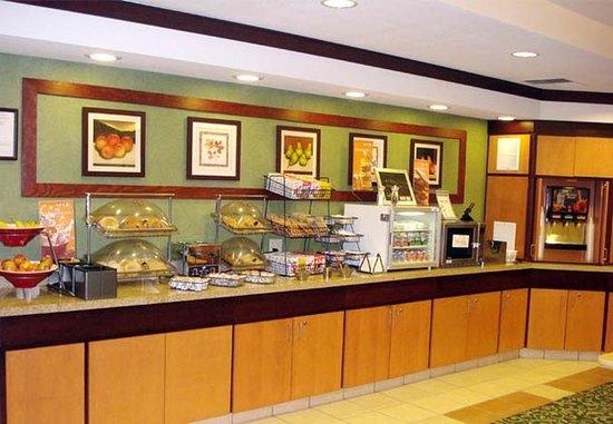 Ukiah, Californien: Breakfast Bar