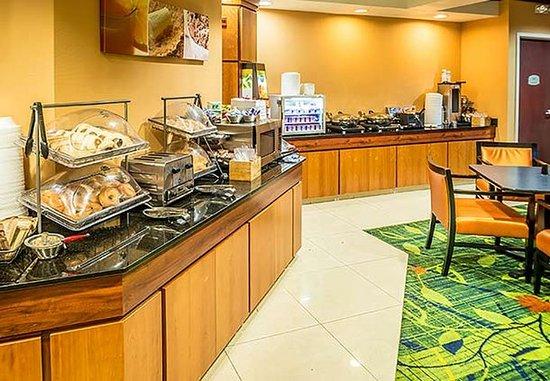 Westminster, Kolorado: Breakfast Area