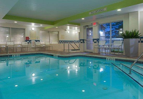 Hazleton, Pensylwania: Indoor Pool & Whirlpool