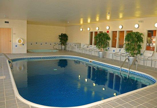 Spearfish, Νότια Ντακότα: Indoor Pool & Spa