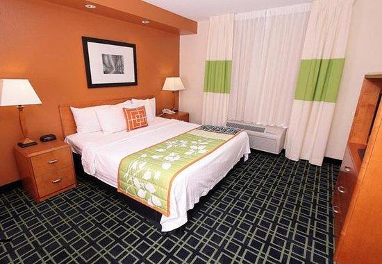 Killeen, Teksas: One-Bedroom Suite Sleeping Area