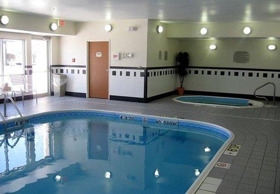 Bourbonnais, إلينوي: Indoor Pool & Spa