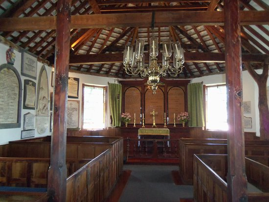 St. George, Bermuda: This is the oldest part of the church.