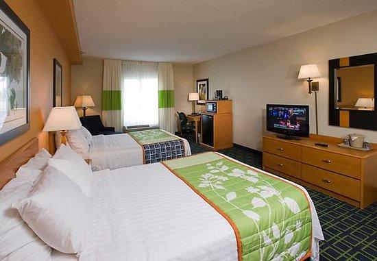Lexington Park, MD: Double/Double Guest Room