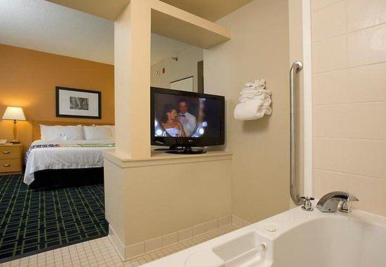 Lexington Park, MD: King Spa Guest Room