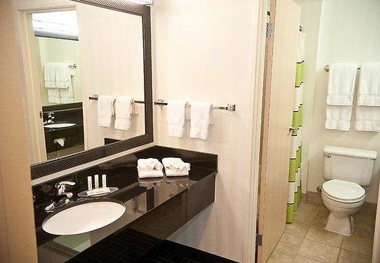 Brookings, Dakota del Sur: Spa Suite Bathroom