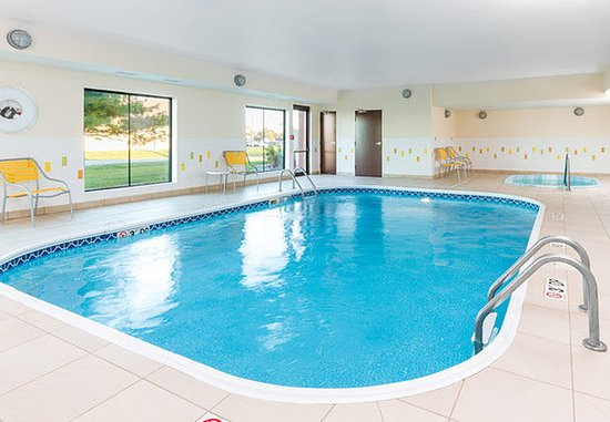 Galesburg, Ιλινόις: Indoor Pool & Spa
