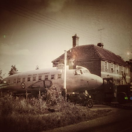 Buxted, UK: The good old days when you could take the plane to the pub