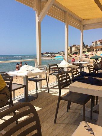 A proper beachside restaurant