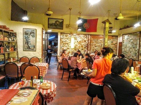 Fernando's Restaurant: La sala d'ingresso (la più familiare)