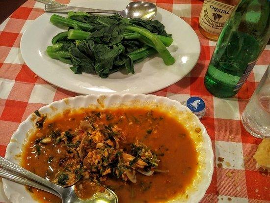 """Fernando's Restaurant: Sauté di Vongole e """"broccoletti"""" cinesi (ottimi)"""