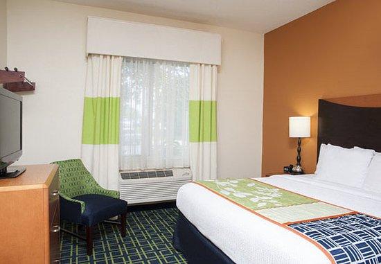 Okemos, MI: King Suite – Sleeping Area