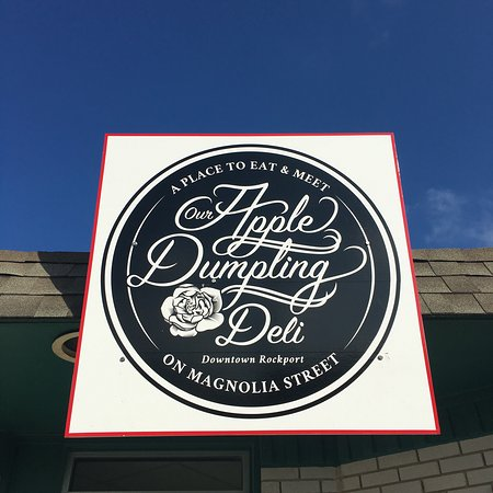 Apple Dumpling Deli: A closer look.