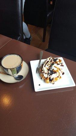Hafnarfjordur, Islandia: Cafe Deluxe