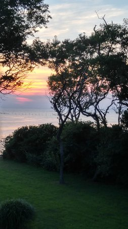 The Baywood Bed and Breakfast: Sunset