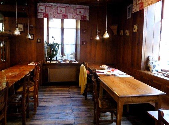 Alagna Valsesia, Italy: Sala ristorante