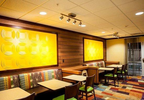Clovis, Νέο Μεξικό: Breakfast Lounge