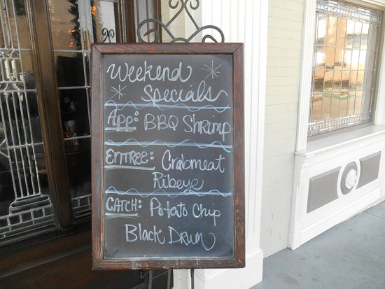 Thibodaux, LA: Fremin's weekend specials