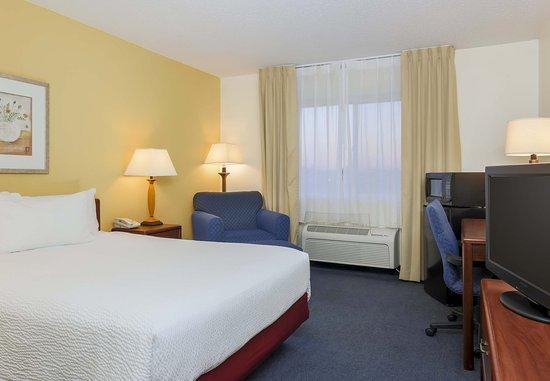 Bay City, Мичиган: Queen Guest Room