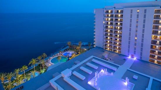 THB Torrequebrada Hotel: Vista de noche