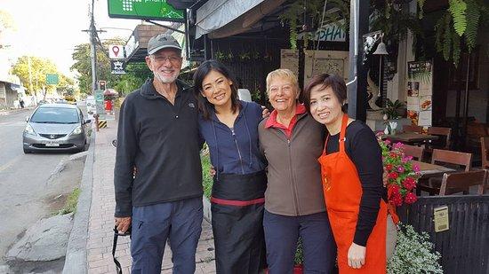 Pat's Klangviang: Valued guests