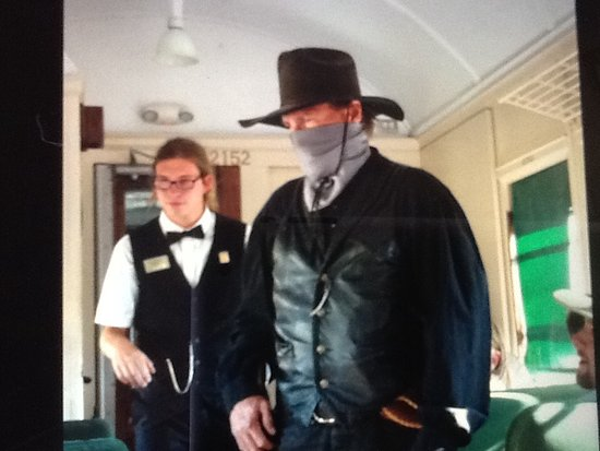 Grand Canyon Railway: Train robber