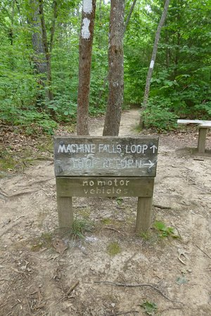 Tullahoma, TN: Machine Falls Loop...There are other loops so be sure to stay on the one you started with