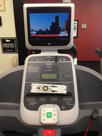 Broken Arrow, OK: Treadmill Screen