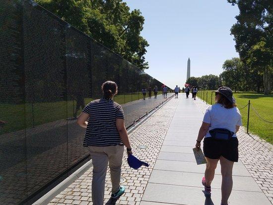Vietnam Veterans Memorial, July 2016