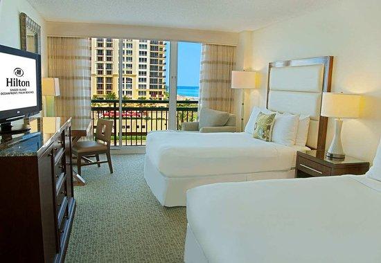 Singer Island, Floride : 2 Queen Beds Standard Room