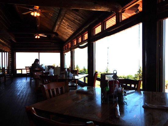 Fish Haven, ID: Upper Restaurant with View