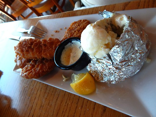 Fish Haven, ID: Battered Cod