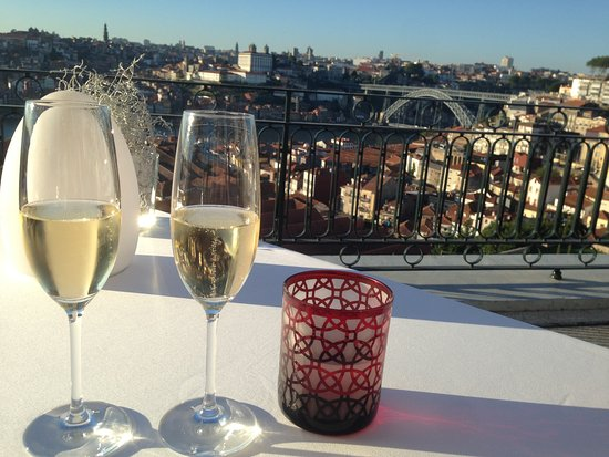 The Yeatman: View from restaurant